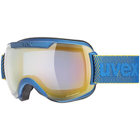 UVEX Downhill 2000 FM Goggles underwater mat/mirror orange blue